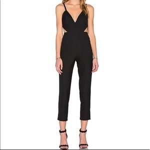 Revolve x Naven Twins Wow Factor Jumpsuit in Black